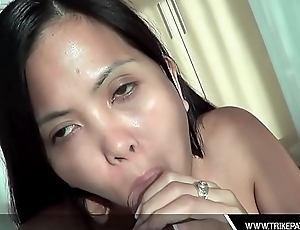 Horny Asian Filipina Deepthroats Thick Learn of