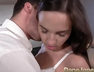 Dane Jones Micro young Czech POV blowjob and primed by big white cock
