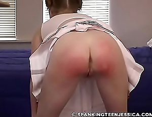 Spanking Teen Jessica - Deserved Punishment part 2