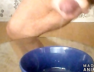 localwolf is Cumming in a bowl