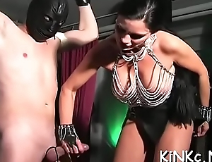 Acquire on dirty latex ride with eternally sex-mad twats