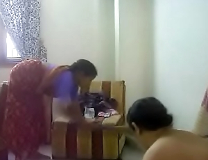 #NaziaPathan Indian arab housewife casually undressed at home - part 1/4