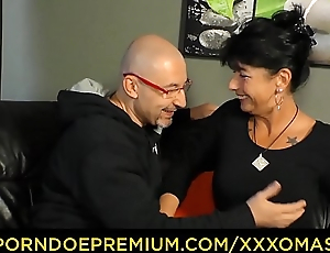 XXX OMAS - Busty grandma drilled deeply from behind