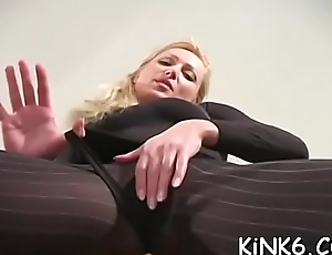 Paunchiness left-hand flaps in pantyhose is a truly arousing show
