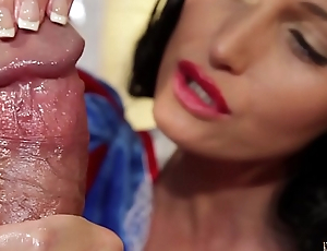I'_ll eat all your warm seed...Snow White riches HANDJOB beyond everything big dick! POV with Kathia Nobili - PART 2