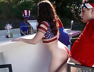 Mother and boss'_s daughter abducted fucked Family Fourth Of July