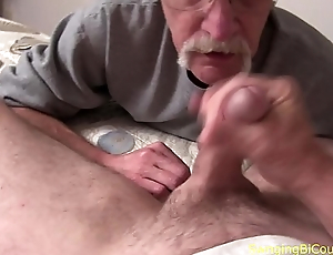 Dads and their Debouchment sucking DICK
