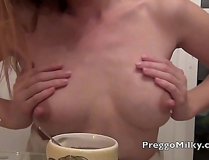 squirting breastmilk real lactating amateur MILF