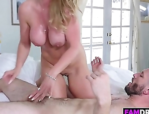 Sated Stepma Rachael Cavalli Gets A Penis