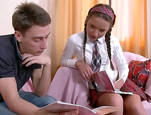 Anal Fuck is just the germane pretence for Horny Schoolgirl