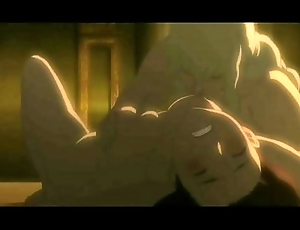 Berserk movie: Griffith and Charlotte sex scene