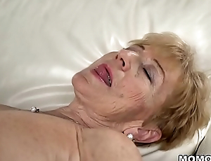 Naughty granny still loves permanent dick - Malya and Mugur