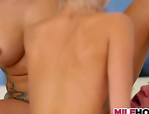 Nubile Mum Plays With Stepdaughters Boyfriend