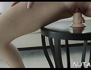 Teen girl with loaded with body gets hot coupled with arranges a solo play