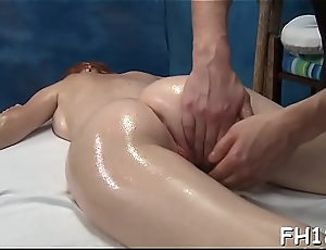 Nice-looking all natural fucked by rubber