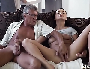 Skinny granny anal old and dad daddy writer patron'_ crony'_s daughter