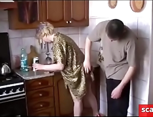 Fucking with a russian MILF