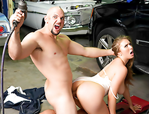 Busty babe Lena Paul & Jmac In a difficulty porn scene - Rich Girl Gets Greasy