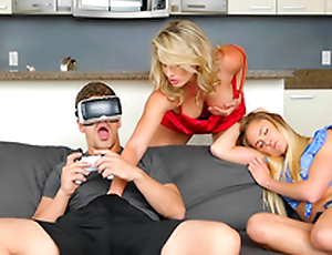 VR porn and Virtual Step Mother - Cory Chase In the porn chapter