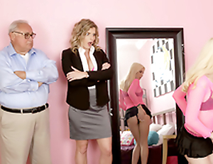 Dress Like A Slut Lick Like A Slut - Naked Cory Chase Hither the porn scene