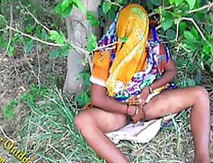 Indian Hot bhabhi enjoyed with her devar in Outdoor Village Outdoor
