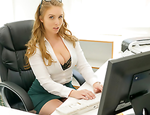 Cum Into My Office -  Lena Paul Porno In the porn instalment
