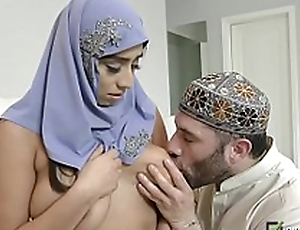 Watch this Arab slut go wild