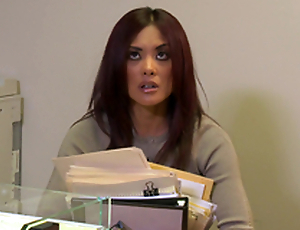 Kaylani Lei Blows this Fellow and Fucks in the Office!