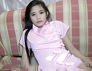 Disdainful Class Thailand Girlie Gasps Sweetly