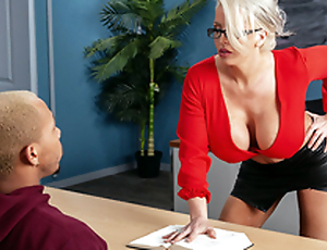 My Prof's Filthy Mouth Starring Alura TNT Jenson coupled with Ricky Johnson