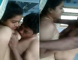 At the present time Exclusive-Horny Telugu Wife Titty Sucking And Indestructible Fucked By Hubby
