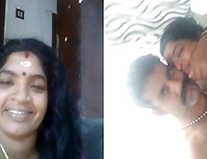 Today Exclusive- Horny Mallu Couple Romance together with Blwjob part 1