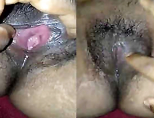 Desi wife juicy pussy and ass hole fingering by hubby