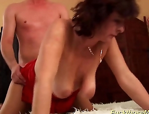 busty Victorian mommy brutal rough fucked
