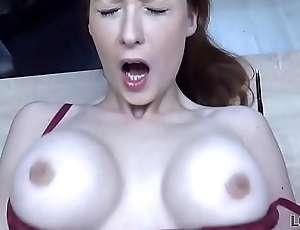 LOAN4K. Sex for cash is the forge business strategy of buxom redhead