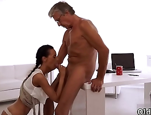Teach me daddy Finally she'_s got her chief dick