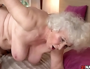 Granny Norma Hairy Pussy