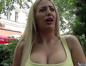 German Scout - Hot MILF Blanche Seduce to Fuck from Spur