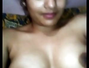 Indian desi unshaded exhibiting a resemblance her nude body